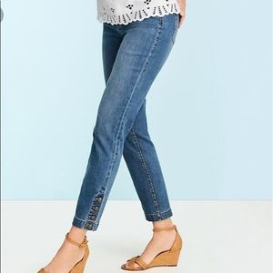Talbots Plus Size Ankle Jeans